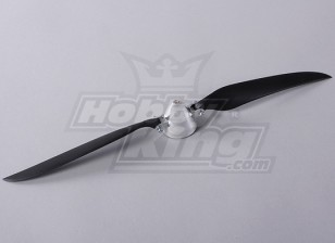 Faltpropeller W / Alloy Hub 45mm / 4mm Welle 14x8 (1pc)