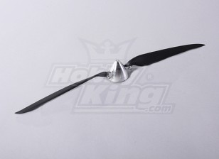 Faltpropeller W / Alloy Hub 50mm / 5mm Welle 17x10 (1pc)