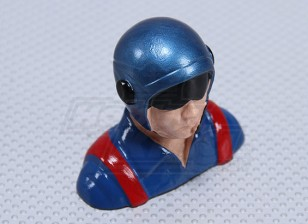 Resin Race-Pilot (H64 x W73 x D32mm)
