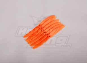 GWS-Art Propeller 4.5x3 Orange (CCW) (6pcs)