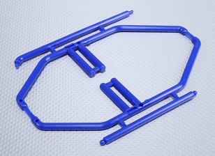 1/10 Rollkäfig (blau)