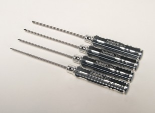 Turnigy lange Welle 4pc Hex Driver Set