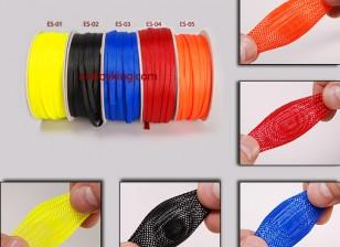 Wire Mesh-Schutz Blau 6mm (1m)