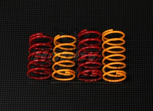 QRF400 Rear Shock Spring Set (37mm x 19,5mm)