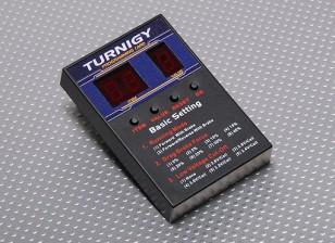 Turnigy Speed Controller Programmierkarte