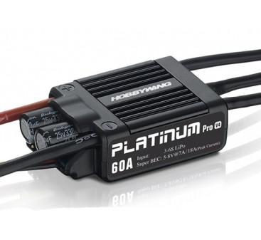 Hobbywing Platin 60A V4 Brushless Regler w / 7A BEC