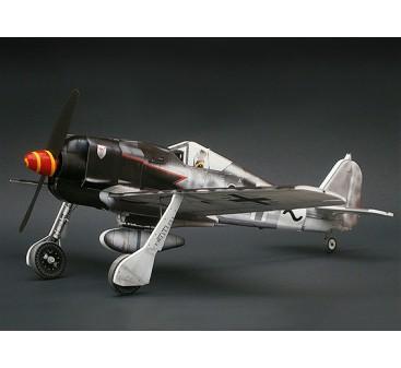 MicroAces Focke Wulf 190 Micro Flugzeug Depron Standard Kit (schwarz 8)
