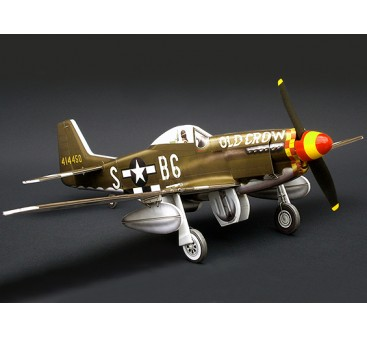 MicroAces P51 D Mustang Old Crow Micro Flugzeug Depron Standard Kit