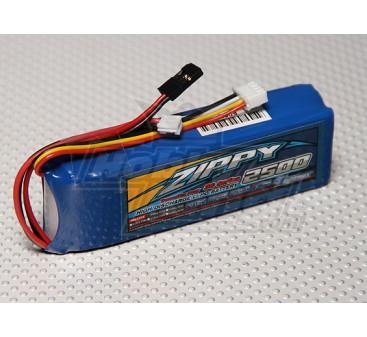 ZIPPY FlightMax 2500mAh Transmitter-Pack (Futaba / JR)