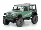 """Jeep Wrangler Unlimited Rubicon klar Körper für 12.3"" ""Radstand Maßstab 1:10 Crawlers"""