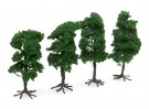 HobbyKing Model Railway Scale Trees with Roots 120mm (4 pcs)