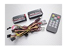 Hobbyking OSD System (Voll Combo): Hauptplatine, Power Module, USB / GPS / IR / TEMP-Module w / Remote