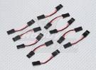 3cm Stecker auf Stecker Servokabel 26AWG (10pcs / set)