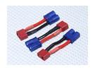 EC3 auf T-Verbindungsstück Batterie-Adapter (3pcs / bag)