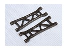 Suspension Arm Set L / R Rear (2ST / bag) - 1/10 Brushless 2WD Desert Racing Buggy - A2032 und A2033