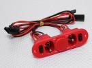 Heavy Duty RX Twin-Switch mit Ladebuchse & Fuel-Punkt-Rot
