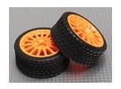 Reifen-Sets mit orange-Rad - A2029-33328