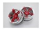 Maßstab 1:10 Hohe Qualität Touring / Drift Felgen RC Car 12mm Hex (2pc) CR-FFR