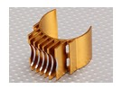Gold-Aluminium-Motor Heat Sink 540/550/560 (36mm)