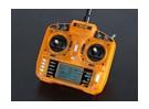 OrangeRx T-SIX 2,4 GHz DSM2 Kompatibel 6ch Transmitter w / 10 Modellspeicher und 3-Pos-Schalter (Mode 2)