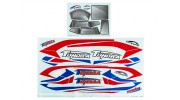 Durafly® ™ Tundra - Decal Set (Blue/Red)
