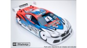 Bittydesign M410 1/10 Touring Car Body (Clear) (190mm)