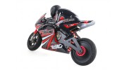 1/8 HKM390 On-Road Racing Motorcycle (Brushed) RTR - left rear