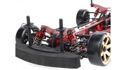 Blaze DFR 1/10 Scale Carbon Fiber Drift Car with Unpainted Bodyshell ARTR (Red)