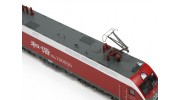 HXD1D Electric Locomotive Red HO Scale (DCC Equipped) 1