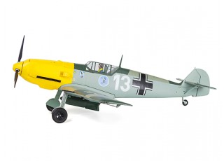 "Durafly™ Messerschmitt Bf.109E-4 Battle of Britain Scheme 1100mm (43.3"") (PnF) - side wheels"