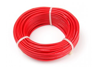Turnigy High Quality 18AWG Silicone Wire 15m (Red)