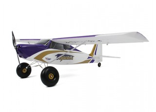 Durafly Color  Tundra 1300mm Anniversary Edition (Purple/Gold) (PnF) - left side