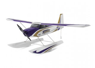 Durafly Color  Tundra 1300mm Anniversary Edition (Purple/Gold) (PnF) - floats