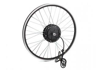 "E-Bike Conversion Kit for 26"" Bikes (PAS Front Wheel Drive) (36V/11A)  (US Plug) - wheel"