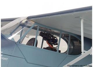 H-King J3 Navy Cub (NE-1) 1400mm (PnP) - FPV camera