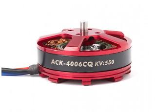 ACK-4006CQ-550KV Brushless Outrunner Motor 4~5S (CW)