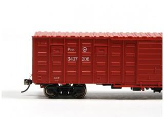P64K Box Car (Ho Scale - 4 Pack) Detail 2