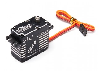 JX CLS-HV7346MG High Voltage Coreless Metal Gear Servo 46.9kg/0.12sec/73g with lead