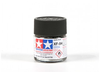 Tamiya XF-84 Dark Iron Acrylic Paint (10ml)