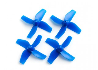 35mm 4-Blade Propeller (2CCW, 2CW) (Blue)