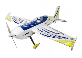"H-King Voltigeur MkII 3D EPO Aerobatic Plane 1220mm (48"") (PNF) - left"