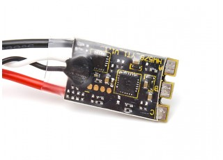 Hobbywing X-Rotor 30A Micro 2-4S ESC with BLHeli-S Dshot600 (Opto) - rear view
