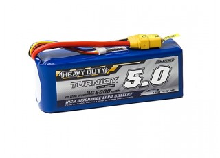 Turnigy Heavy Duty 5000mAh 4S 60C Lipo Pack w/XT-90