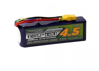 Turnigy nano-tech 4500mah 5S 35~70C Lipo Pack w/XT-90