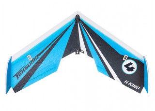 "H-King Teksumo EPP Wing 900mm (35"") (Cerulean Blue) (Kit) - Top"