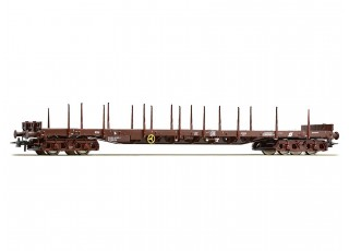 Roco HO Double Bogie Stanchion Wagon OBB