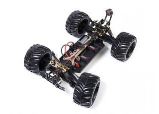 JLBRacing Cheetah 1/10 4WD Brushless Off-road Truggy (ARR) - uncovered