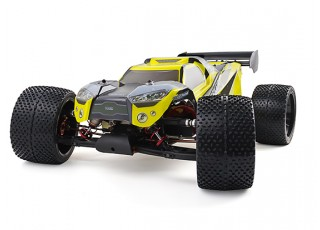 BSR Berserker 1/8 Electric Truggy Updated (Kit) - turn left