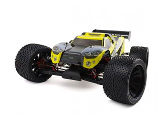 BSR Berserker 1/8 Electric Truggy Updated (Kit) - turn right