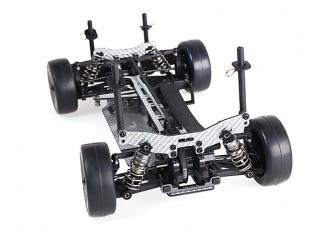 Blaze R2 1/10 Scale Carbon Fiber Touring Car with Unpainted Bodyshell ARTR (Silver)
